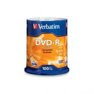 Verbatim DVD-R 120' 4.7GB 16x Cake Box x100, (43549)