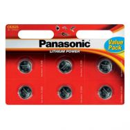 Μπαταρίες PANASONIC LITHIUM POWER CR2025L/6BP