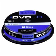 INTENSO DVD+R 4,7GB 16x Cake Box x10, (04454)