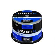 INTENSO DVD+R 4,7GB 16x Cake Box x50, (04492)