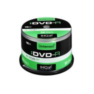 INTENSO DVD-R 4,7GB 16x Cake Box x50, (04355)