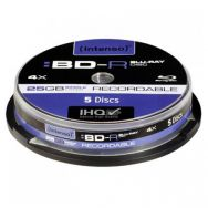 INTENSO BLU-RAY 25GB 4x Cake Box x5 (11810)