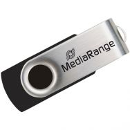 USB Flash MediaRange MR912 USB 2.0 64GB Black/Silver