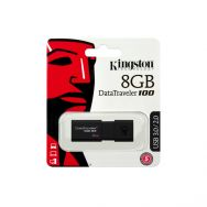 USB Flash Kingston DataTraveller 100 (G3) 8GB USB 3.0, Black