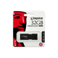 USB Flash Kingston DataTraveller 100 (G3) 32GB USB 3.0, Black