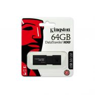 USB Flash Kingston DataTraveller 100 (G3) 64GB USB 3.0, Black