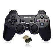 Gamepad VAKOSS, Wireless, 10 buttons, 2 joystick, Black