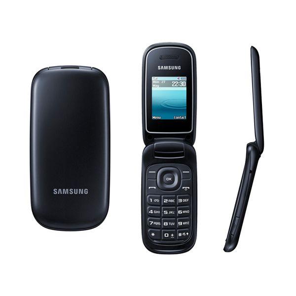 3453e3aca91 Κλικ για Zoom Κινητό Τηλέφωνο SAMSUNG E1270 Dual SIM BLACK EU